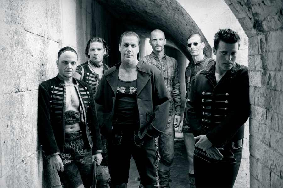 I Rammstein in concerto 09 Luglio ROMA Ippodromo delle Capannelle