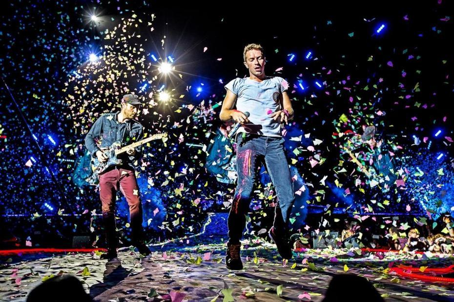 Coldplay Tour Boston