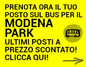 Vasco Modena Park Ultimi Posti Bus