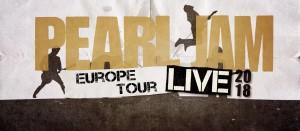 pearl jam tour 2018