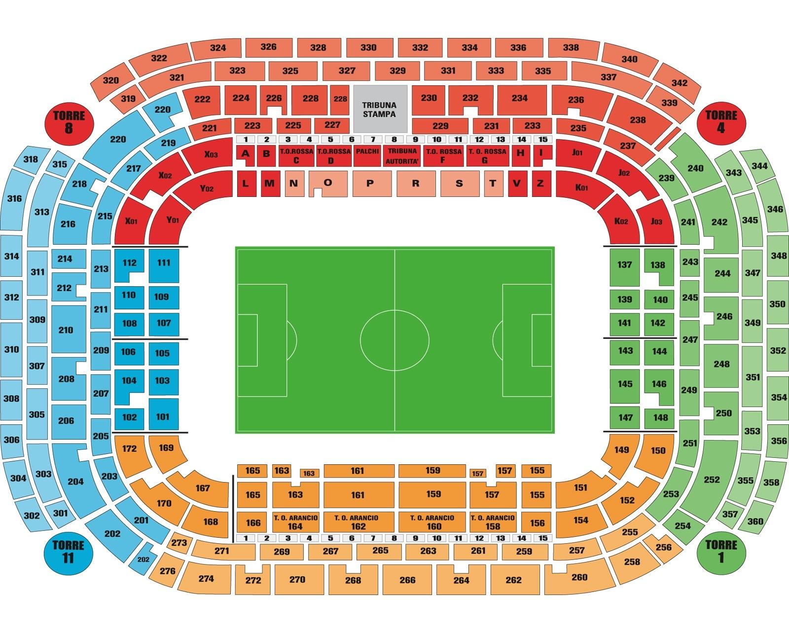 terzo anello stadio san siro milan - photo#36